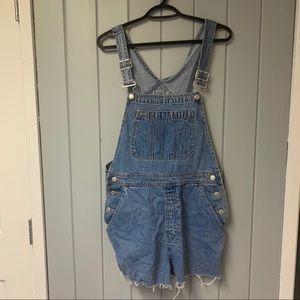 Vintage GAP short overalls